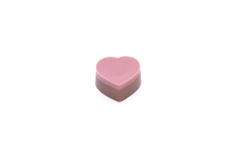 Praline srca s punjenjem od jagoda 80g